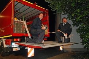 Wasserförderung: Obwohl es sich bei dem neuen Schlauchwagen um ein Fahrzeug des Katastrophenschutzes handelt, kann es auch im alltäglichen Einsatzgeschehen der Feuerwehr genutzt werden. Immer dann, wenn viel Wasser oder dieses über eine längere Entfernung transportiert werden muss. Hierzu werden auf dem Fahrzeug insgesamt 2000 Meter B-Schlauch mitgeführt. Foto: Stadt Kassel